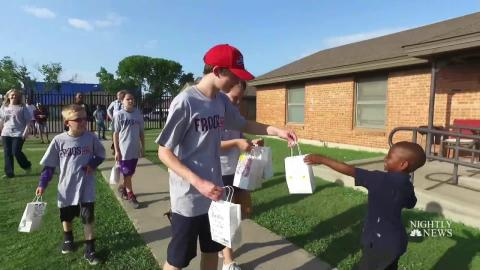 Inspiring America: How One Kid-Run Dinner Club Feeds Hungry Children
